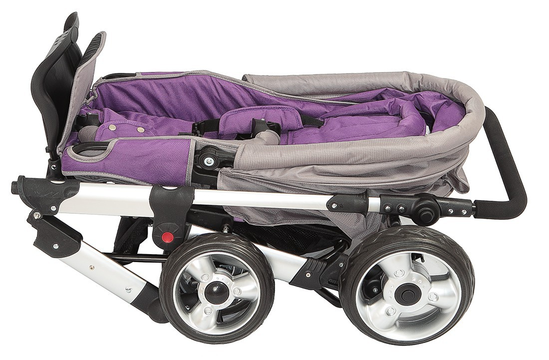 sportwagen kinderwagen qx 519 von united kids grey violett 16kg. Black Bedroom Furniture Sets. Home Design Ideas