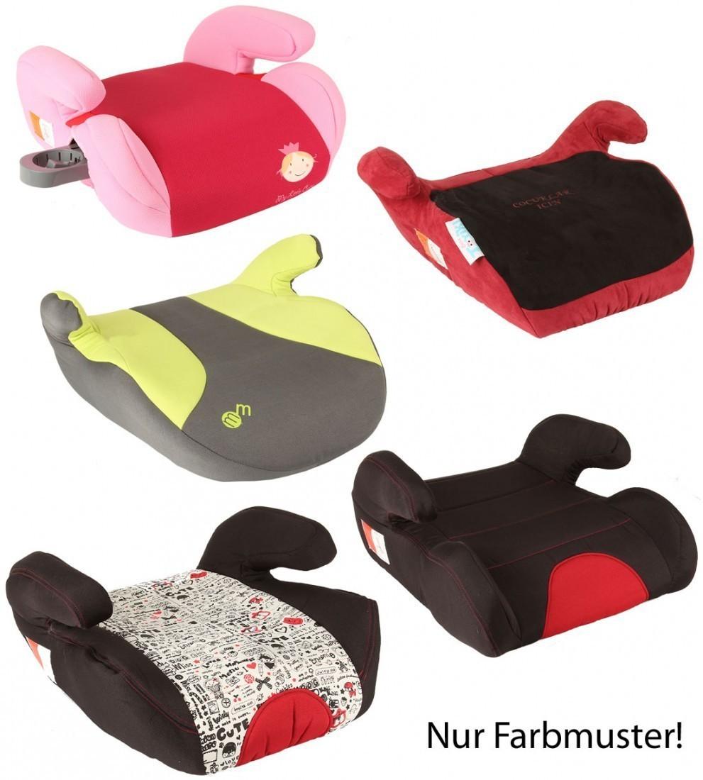 autokindersitz booster von united kids farben nach zufall. Black Bedroom Furniture Sets. Home Design Ideas
