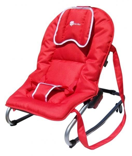Babywippe / Schaukelliege A503 von UNITED-KIDS, Rot